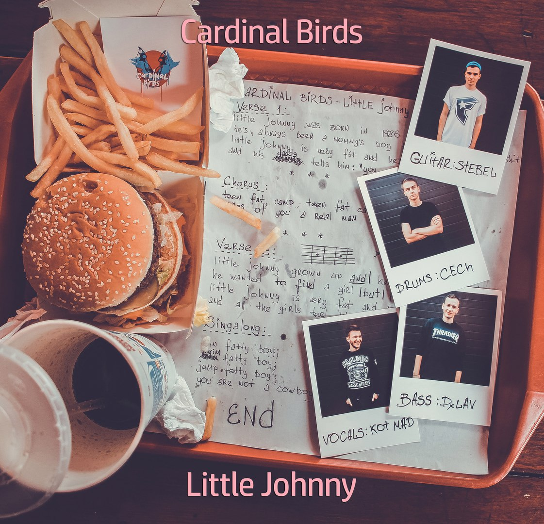 Cardinal Birds – Little Johnny / pop-punk | Overdrive.com.ua