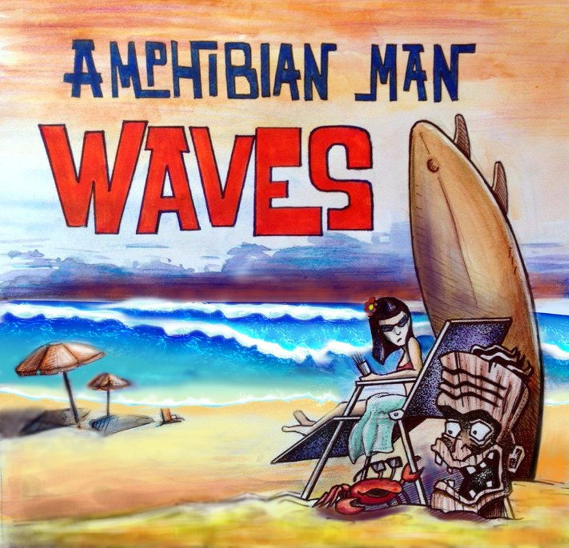 Amphibian Man - Waves (2016) | Overdrive.com.ua